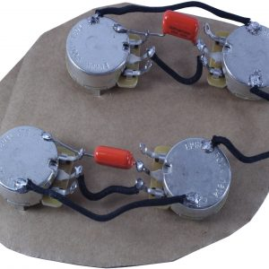 Les Paul style main cavity wiring harness (50s wiring)