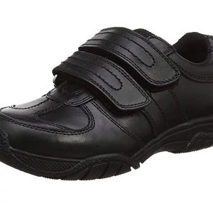 Leather boys school shoes Chivers