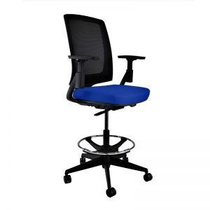 HON Ignition Draughtsman in New Blue Fabric