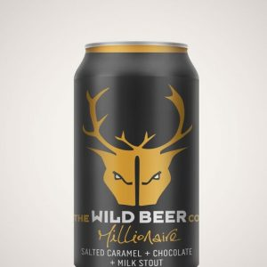 Wild Beer Co - Millionaire Salted Caramel Stout 4.7%