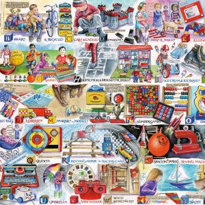 Space Hoppers & Scooters 1000 Piece Jigsaw Puzzle